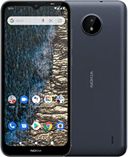 """Nokia C20 Android Smartphone with 4G, Dual SIM, 2GB RAM, 32GB ROM, 6.5"""" HD display, front and rear 5MP cameras – both with..."""