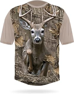 Whitetail Deer Camo T-Shirt - Deer Buck Hunting Shirts for Men - Men's Gift Idea