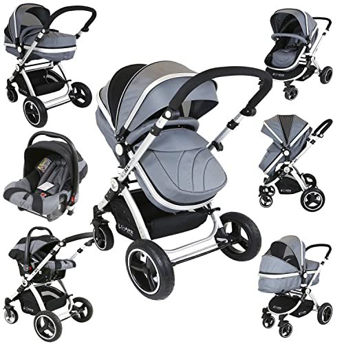 Travel Systems 3 In 1 Prams With Car Seat Amazon Co Uk