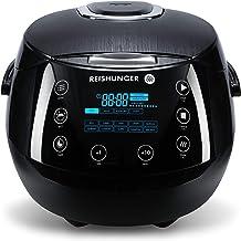 Reishunger Digitale rijstkoker (1.5l/860W/220V) Multi-cooker met 12 programma's, 7-fase technologie, premium binnenpot, ti...