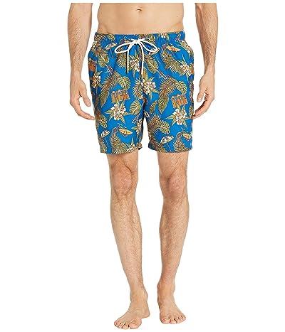 Tommy Bahama Naples Cabana Club Swim Trunk (Madras Blue) Men