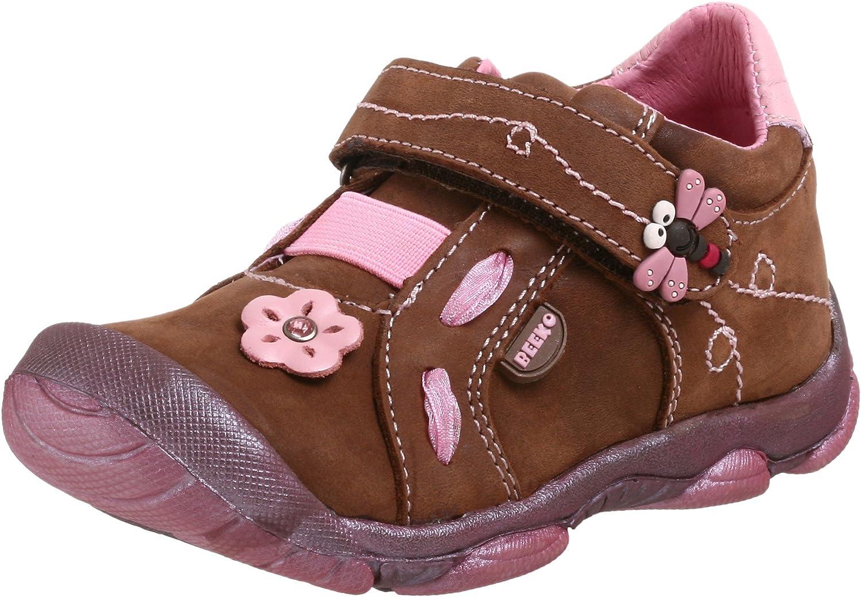 Beeko Marilou Shoe (Toddler),Brown,19 M EU (4-4.5 M US Toddler)