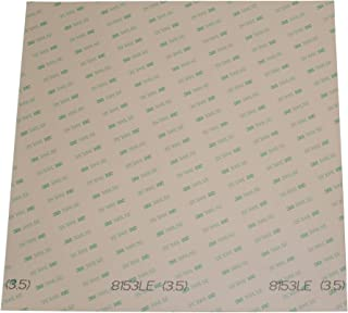 Soles2dance Sheets of 3M 8153LE 300LSE Super-Strong Double-Sided Adhesive/Adhesive Transfer Tape, Ideal for attaching digi...