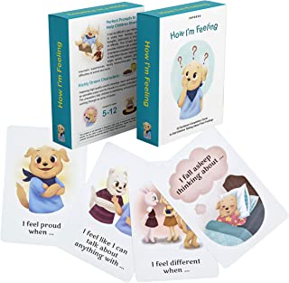 How I'm Feeling - 52 Sentence Completion Cards to Get Children Talking About Their Feelings - Ideal for Parents, Teachers, Therapists and More - by Impresa