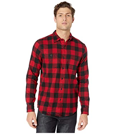 J.Crew Slim Midweight Flannel Shirt in Buffalo Check (Buffalo Check Red) Men