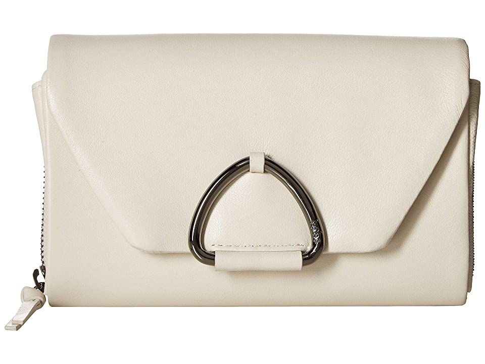 Kooba Tasha Wallet on a String (Blanco) Handbags, White