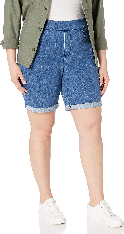 NYDJ Women's Plus Size Pull on Short