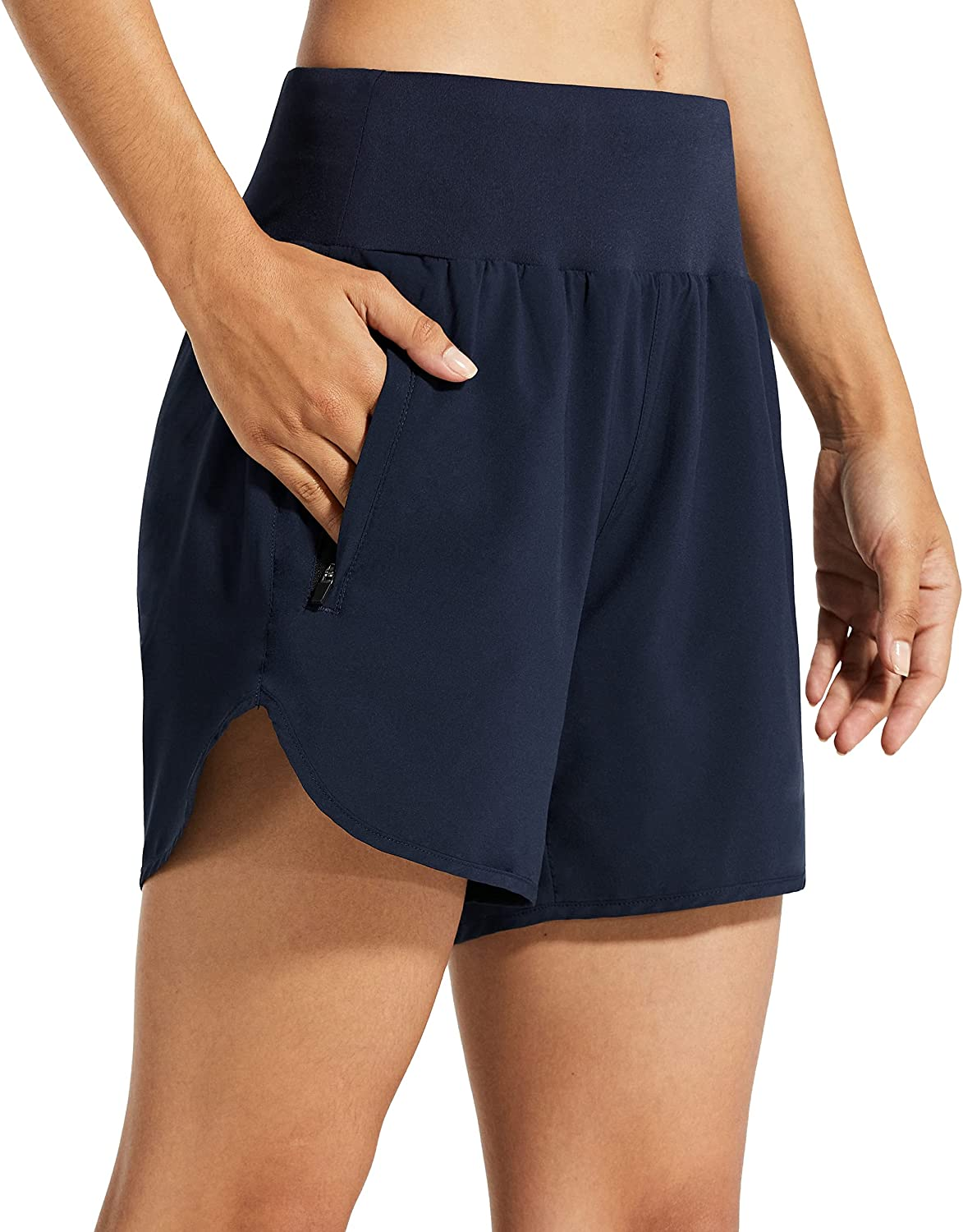 Libin Womens 5 Inches Athletic Running with Shorts D Ranking TOP12 Liner Quick Nashville-Davidson Mall