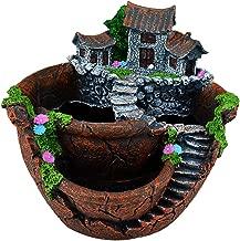 fairy garden in plant pot