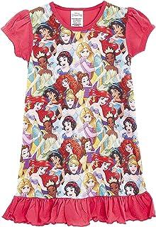 Camisón para Chicas De Princesa Personajes De Televisión   con El Rey León, Aladdin, Cenicienta, Paw Patrol, Little Mermaid   Ropa De Dormir para Niños