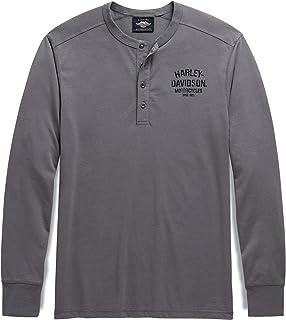 Men's Since 1903 Henley, Grey