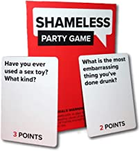 Barefaced Games Shameless Party Game: Discover How Shameless Your Friends are!