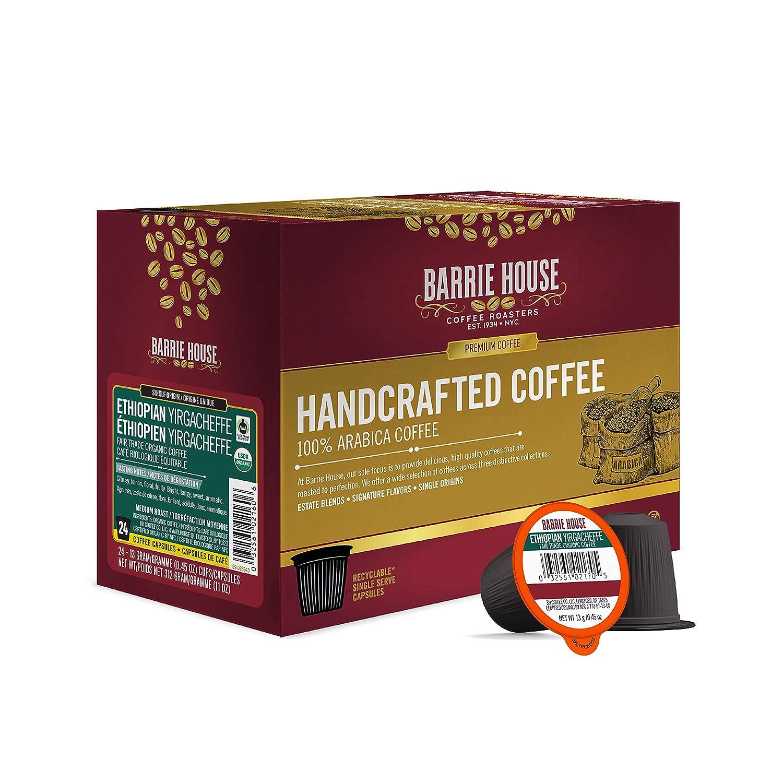 Barrie House Ethiopian Yirgacheffe latest Single 24 Max 48% OFF Pods Coffee Serve