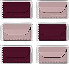 MightyMicroCloth Microfiber Eyeglass Cleaning Cloths – Travel Pouch – Lens Cleaner for Glasses, Camera Lenses, Tablets, Phones, Screens, Electronics