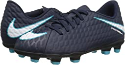 Nike Kids Hypervenom Phade III FG Soccer (Little Kid/Big Kid)