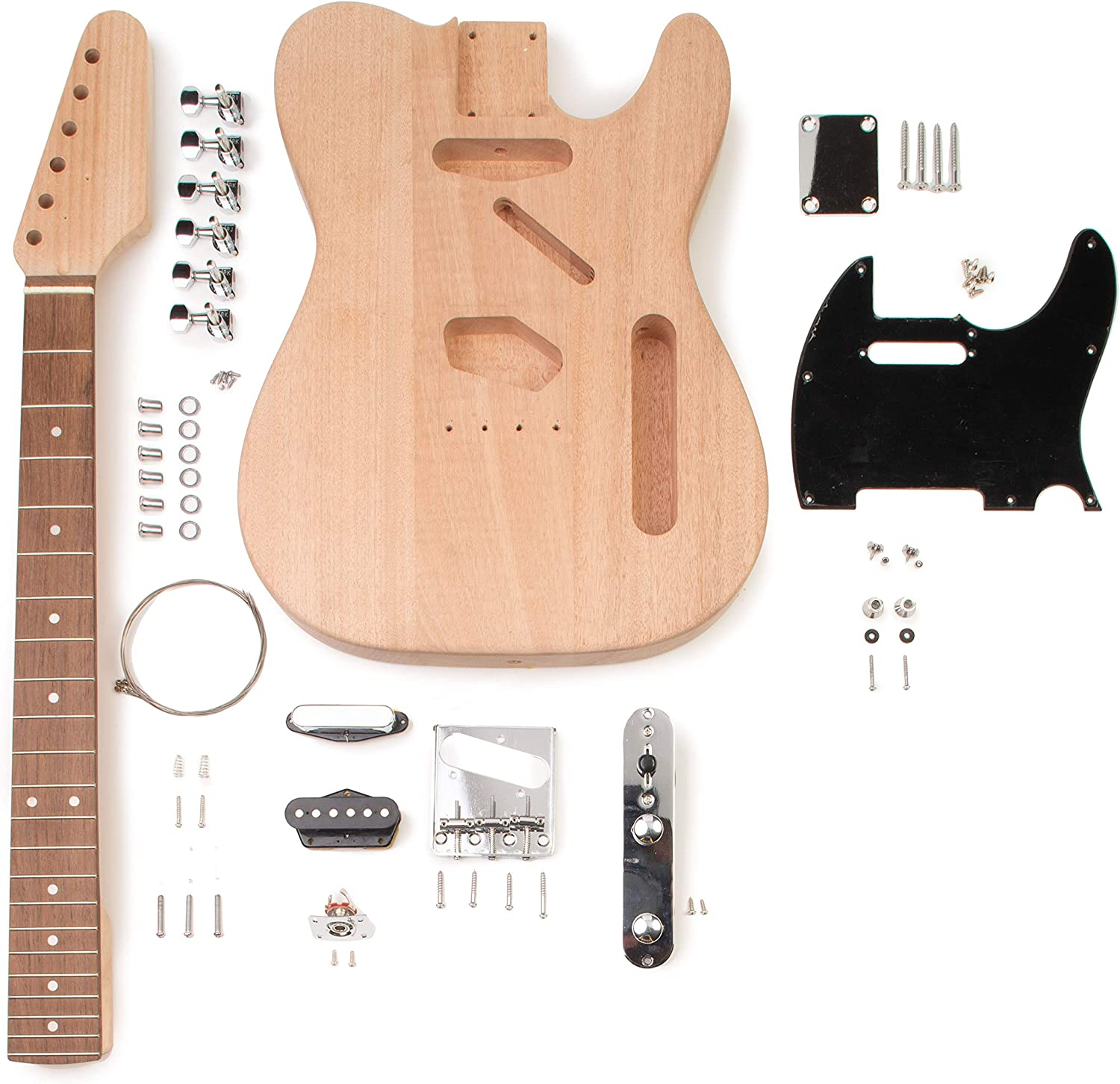 StewMac Build Special price for a limited time Your Own specialty shop Guitar Kit T-Style Electric