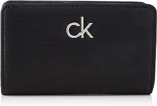 Calvin Klein Billfold French Wallet, Accessoire Portefeuille de Voyage Femme, Black, Taille Unique