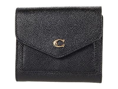 COACH Cross Grain Leather Wyn Small Wallet