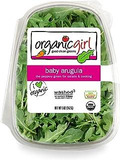 organicgirl Baby Arugula Greens, 5 oz Clamshell