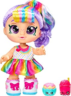 Kindi Kids Snack Time Friends, Pre-School 10 inch Doll - Rainbow Kate