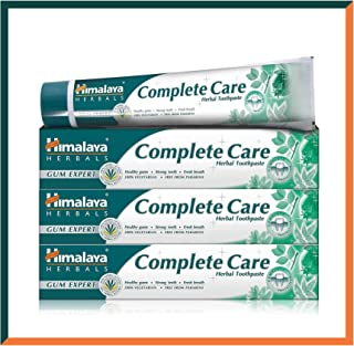Himalaya Herbals Gum Expert Complete Care Toothpaste - Anti inflammation, Anti-oxidant, Prevents Bleeding or Swollen Gum - 100% Vegetarian Herbal Toothpaste 75ml (SAVER PACK - Pack of 3)
