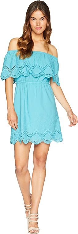 Crochet Embroidered Cotton Dress KS6K920S