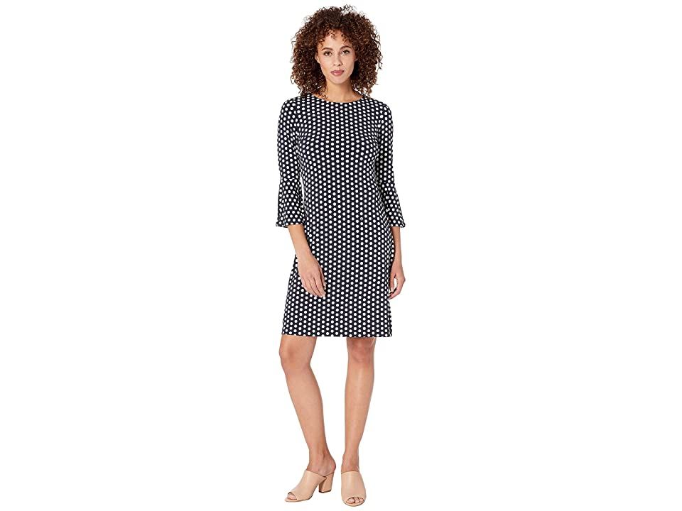 Tommy Hilfiger Duo Dot Dress (Sky Captain/Ivory) Women