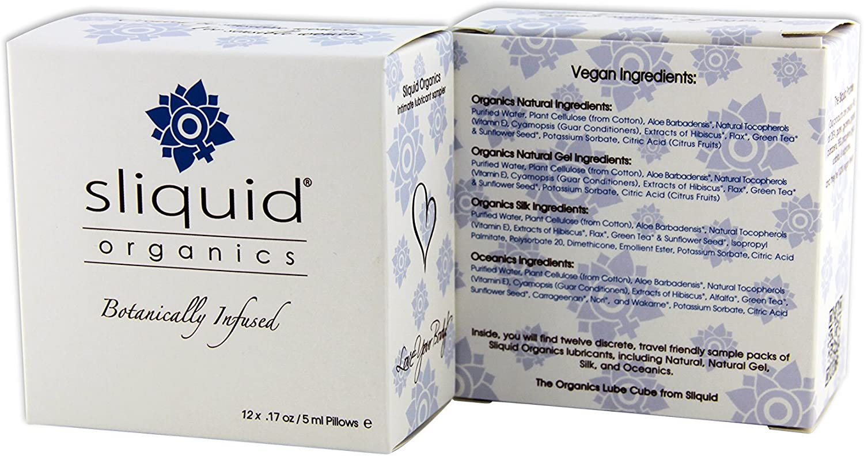 Sliquid Organics Lube San Diego Mall Cube 2 shop of Quantity -