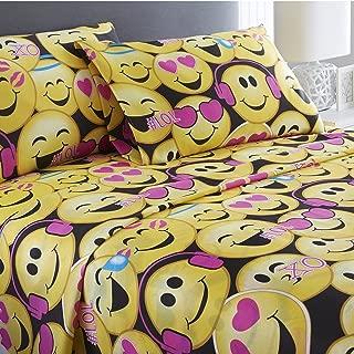 emoji bed set queen