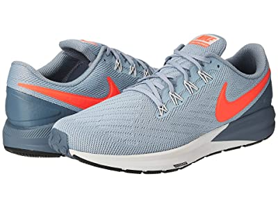 Nike Air Zoom Structure 22 (Obsidian Mist/Bright Crimson/Armory Blue) Men
