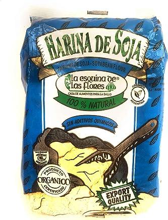 Premium Organic Soybean Flour No Chemical/Harina de Soja Organica sin Quimicos Calidad Premium