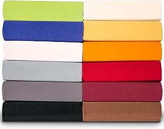 aqua-textil Royal Sábanas Ajustables Cama Boxspring Redonda Cama de Agua algodón Elastano Ø Aprox. 245 cm Negro