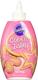 Wilton 704-0146 Pink Cookie Icing, 9-Ounce, Assorted