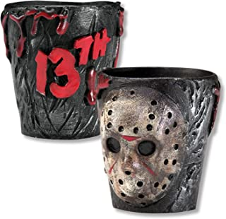 Rubie's Friday The 13th Jason Voorhees Drinking Party Shot Glasses, Set of 2