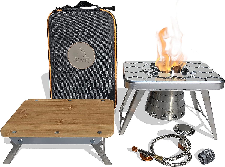 small camping gas stove