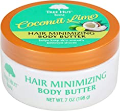 product image for Tree Hut bare Hair Minimizing Body Butter, 7oz, Essentials for Soft, Smooth, Bare Skin