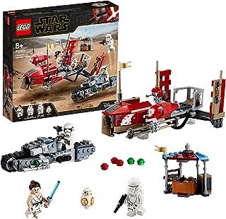 LEGO Star Wars TM - Trepidante Persecución en Pasaana, Set de Construcción Inspirado en la Guerra de la Galaxias, Vehículo Espacial de Juguete, Episodio IX: El Ascenso de Skywalker (75250)