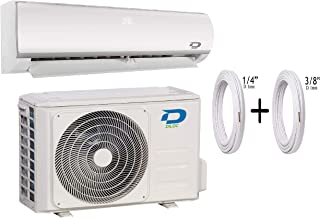 Diloc Frozen Aire Acondicionado 12000 BTU R32 Climatizador Inverter Pared D.FROZEN12+D.FROZEN112 Compresor Sharp + Tubos Cobre Par 1/4