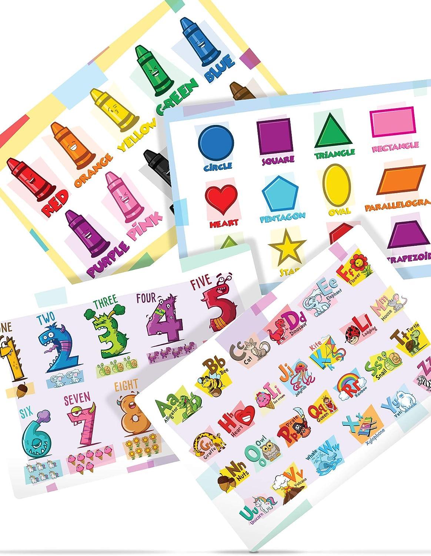 Kibaga Plastic Placemat for Kids