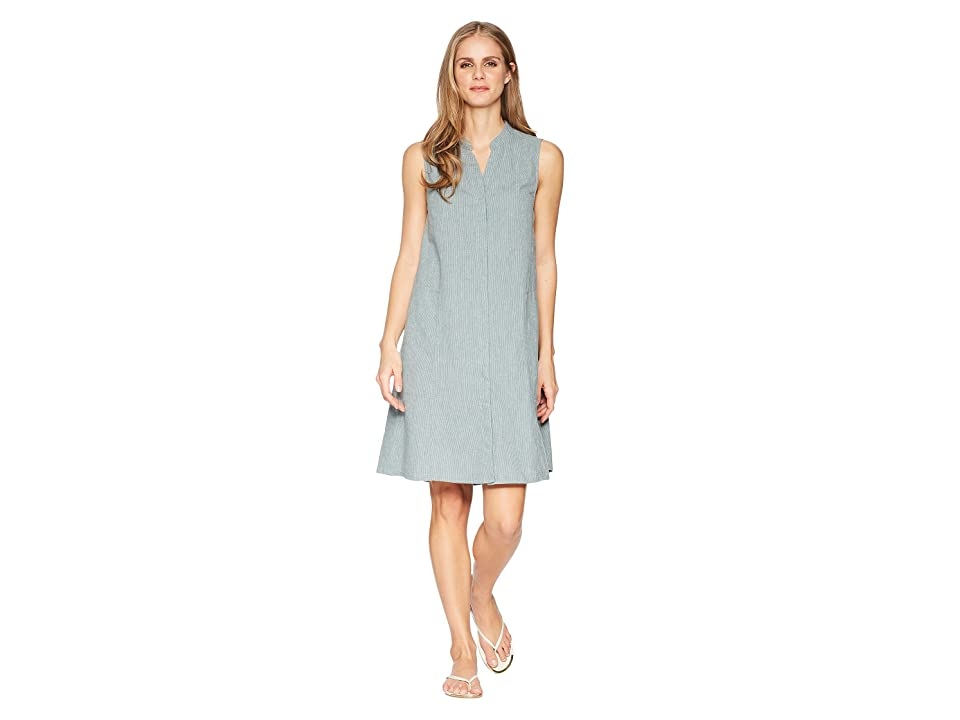 NAU Straight Up Sleeveless Dress (Balsam Stripe) Women