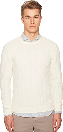 eleventy - Spunia Cable Knit Sweater