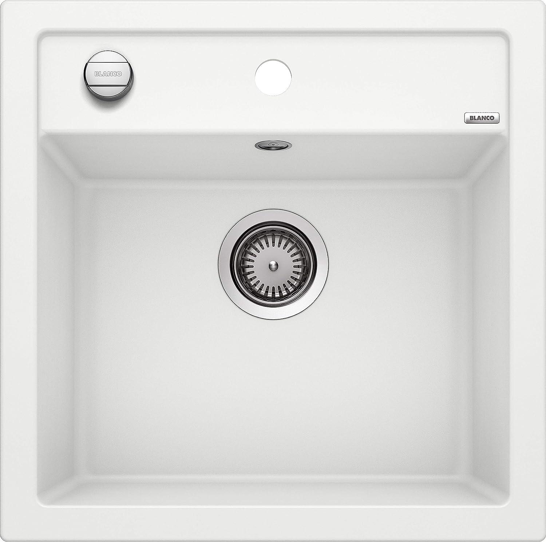 Weiß Dalago 5, Küchenspüle aus Silgranit PuraDur, wei, 1 Stück, 518524
