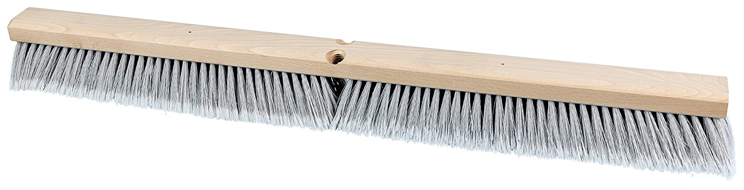 PFERD trust 89243 Al sold out. Medium Sweeping Broom with Block Lacquered Hardwood