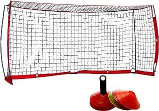 ZELUS Portable Soccer Goal Set: 12x6 ft Soccer Goal for...