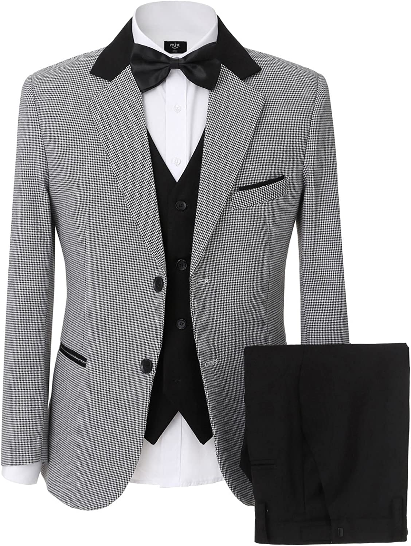 Men's Clothing Causal Men Suit Tailor Blazer Suits Slim Fit Jacket and Trousers