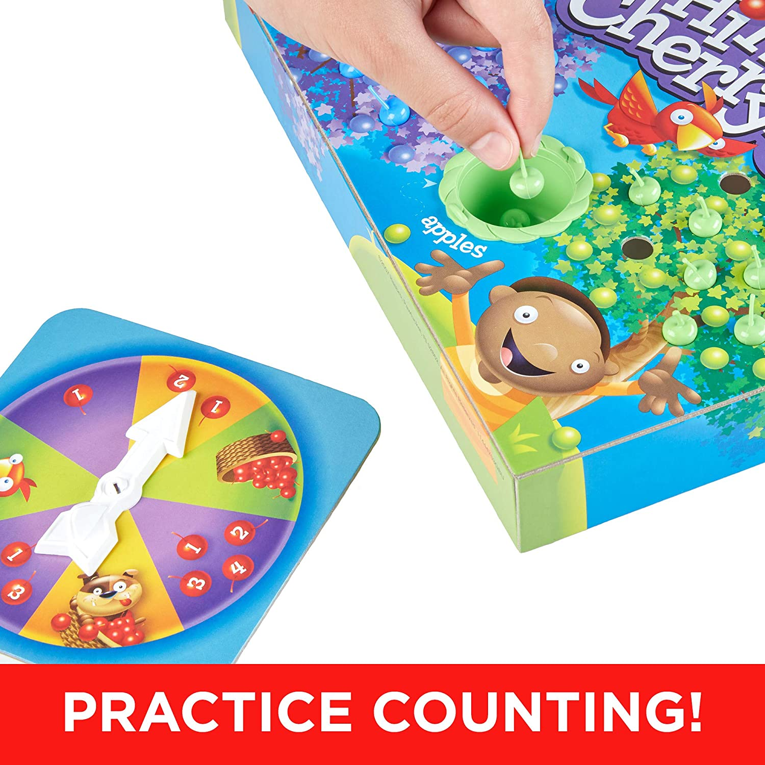 Details about  /Hi Ho Cherry-O Board Game Hasbro; Family Fun for Ages 3+; Challenges Kids/' Math