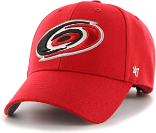 9a123fd6a3a57 Carolina Hurricanes  47 NHL MVP Structured Adjustable Strap One Size Fits  Most Red Hat Cap
