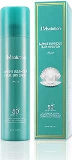 JM Solution Marine Luminous Pearl Sun Protection Sun Spray SPF50+PA++++ 180ml Korean cosmetics