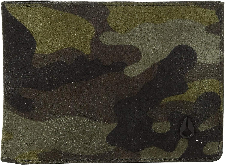 Nixon The Cape SE Bifold Wallet Black/Camo/Volt One Size