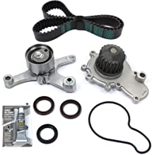 New TSW245MSI (112 TEETH) Timing Belt Kit w/HNBR OEM GRADE Belt & Water Pump Set w/RTV Silicone